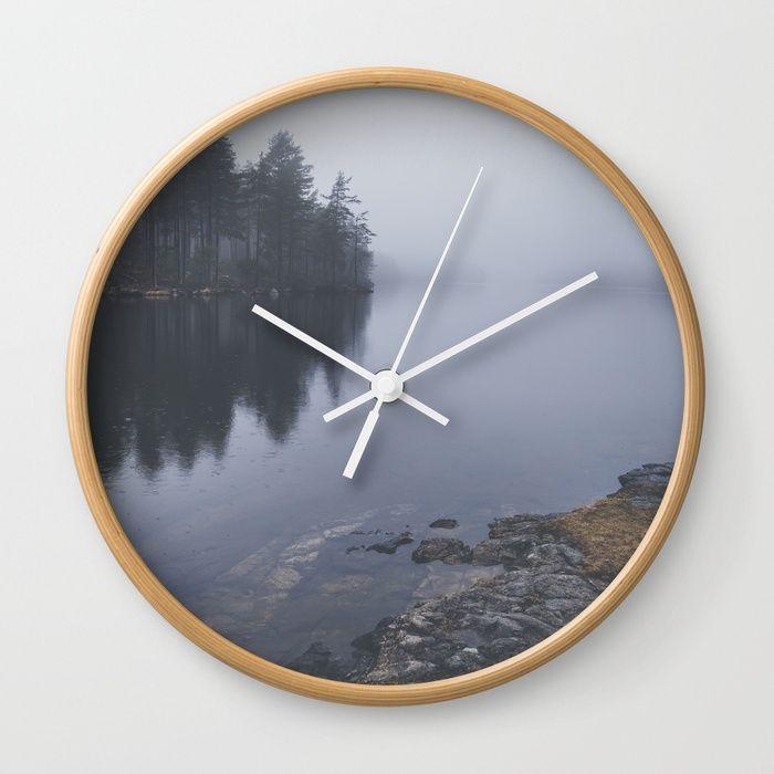 I love the rain Wall Clock
