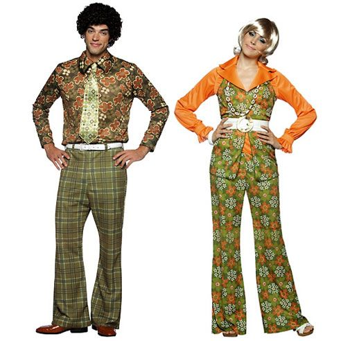 1970's - Mike and Carol Brady - the Brady Bunch - Available for hire -  Mike size medium, Carol size 10