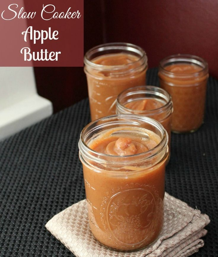 Slow Cooker Apple Butter 71 calories and 2 points per 1/4 cup serving