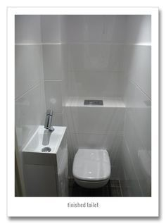 Best Small Downstairs Cloakroom Ideas Images On Pinterest - Small toilet ideas