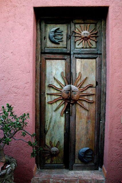 Door of the Casita, San Miguel De Allende, Mexico
