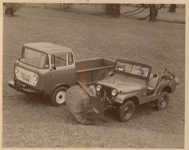 Willys Jeep forward control pick-up truck and CJ-5    Toledo-Lucas County Public…