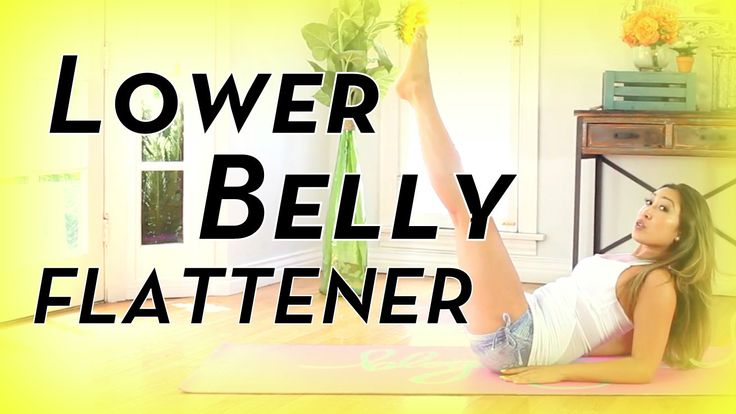 Lower Belly Flattening Moves! |