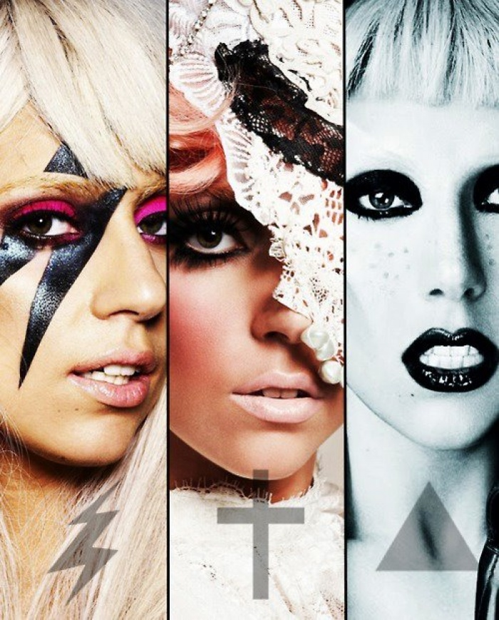 Mens Pañuelo Cuadrado De Seda - Lady Gaga: Madre Monstruo Por Vida Vida BpWaVa