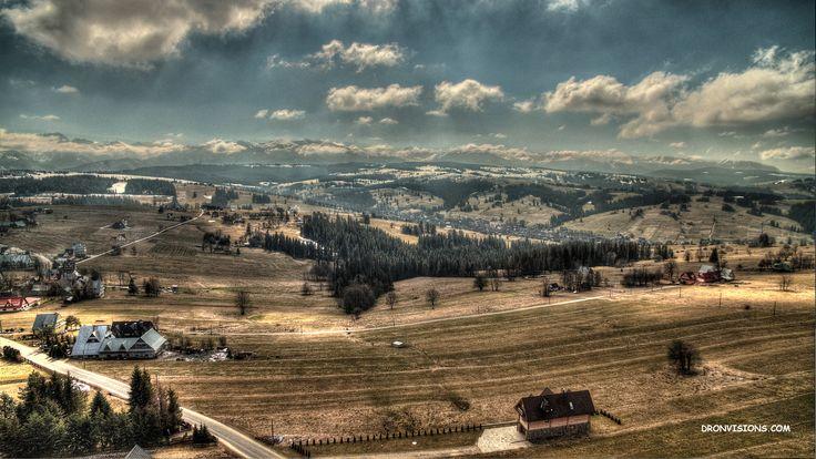 Bachledówka - widok na Tatry