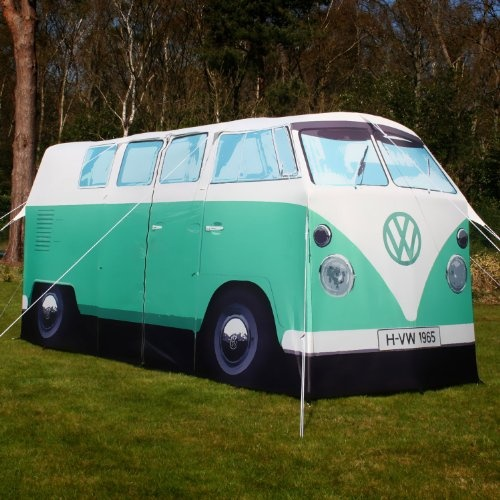 exact scale replica volkswagen vw camper van tent in green. Black Bedroom Furniture Sets. Home Design Ideas