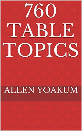 760 Table Topics