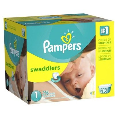 Pampers Swaddlers Diapers Economy Plus Pack Love These