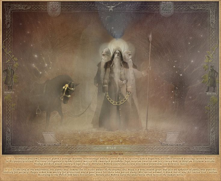 Nyja, the lord of underworld