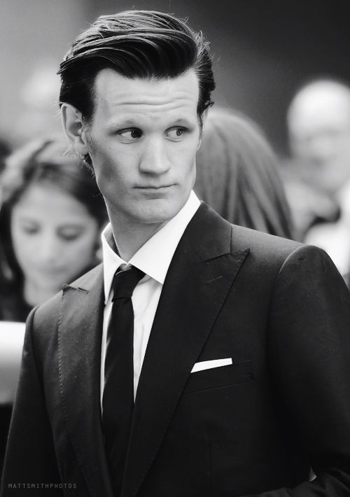 Mat Smith + Suit + black&white = PERFECTION