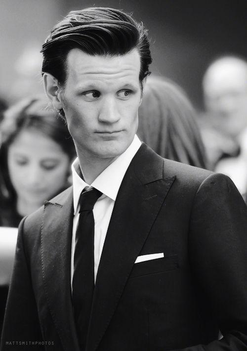 Mat Smith + Suit + black&white = PERFECTION