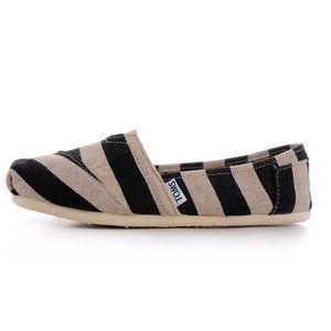 Toms Kenya Stripes Linen Women's Classics in Toms Shoes Outlet Store -