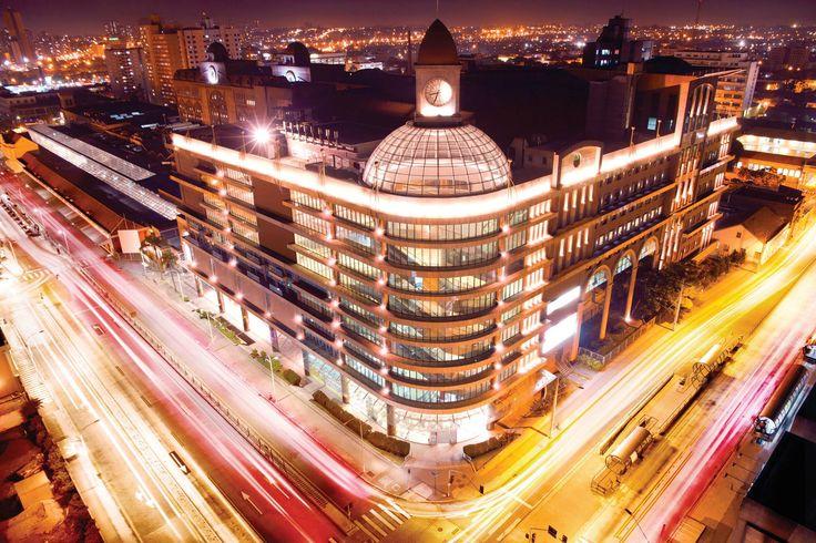 Shopping Estação Plaza Show Curitiba Brazil