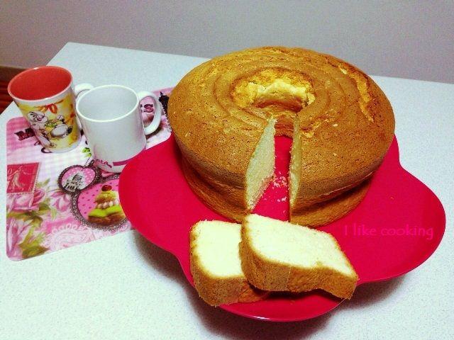 Angel cake - ciambellone americano