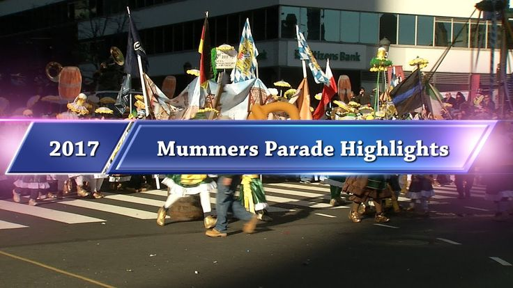 2017 New Years Mummers Parade Highlights