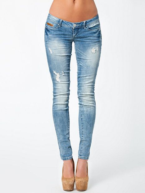 Coral Superlow Skinny Jeans - Only - Denim Blå - Jeans - Klær - Kvinne - Nelly.com