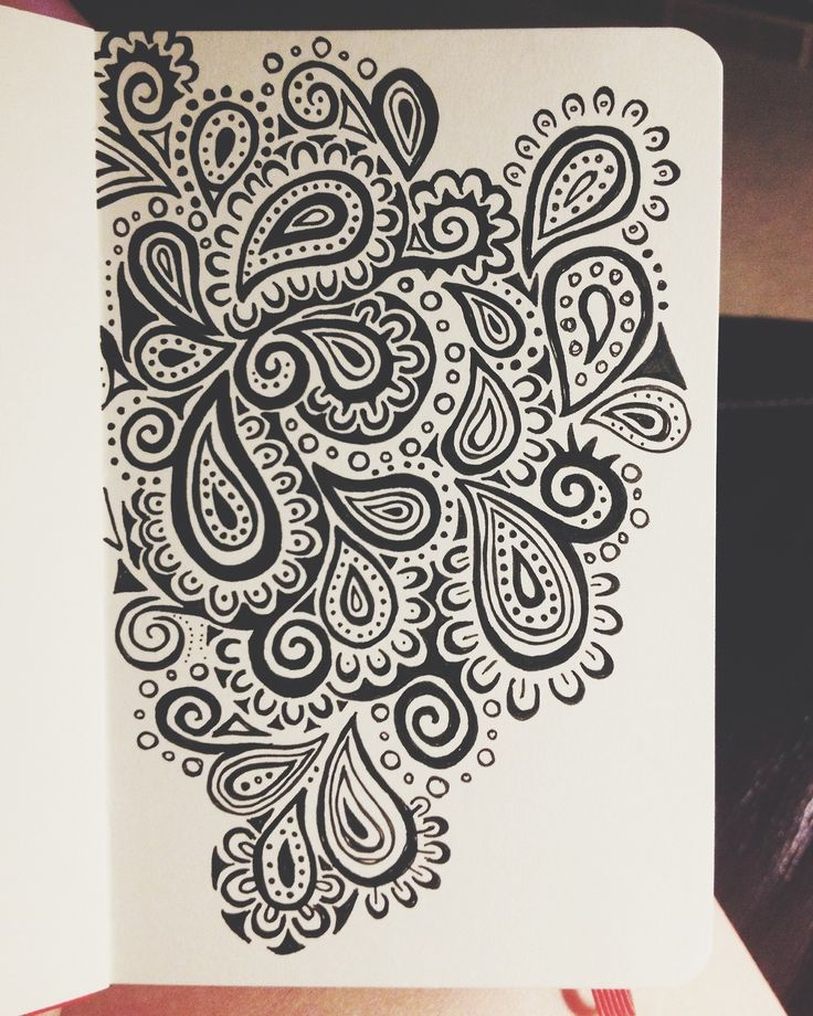 lauren salgado one of my favorite designs done with micron pens on a x moleskine sketchbook - Drawing Design Ideas