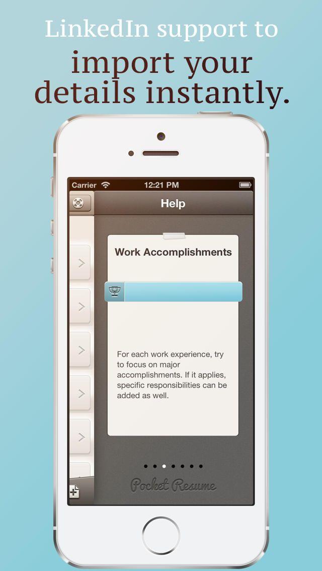 free download resume maker resume maker mobile resume maker - Mobile Resume Maker