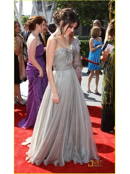 Selena Gomez Creative Arts Emmy's Red Carpet Celebrity Dress Prom Evening Gown by jessygo