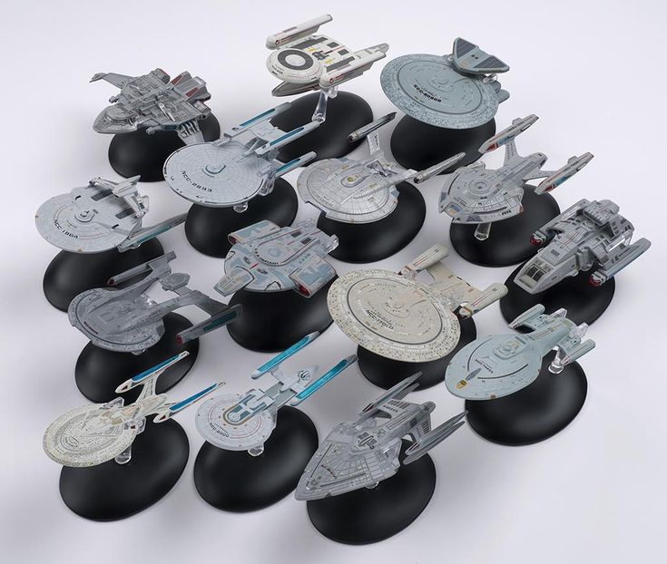 The Trek Collective: Star Trek: The Official Starships Collection index