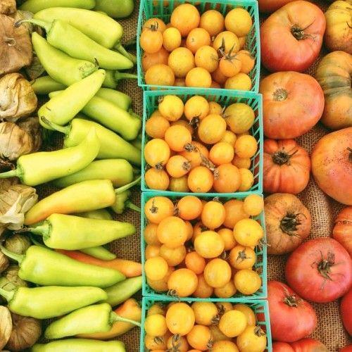 vegetable gradation via @happymundane on instagramInstagram, Happymundan, Vegetables Gradation