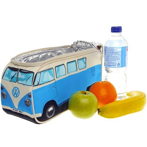 Volkswagen Campervan Lunch Box in blue