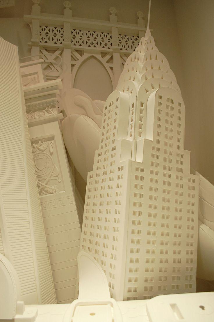 J Crew Christmas 2013 Paper Sculptures