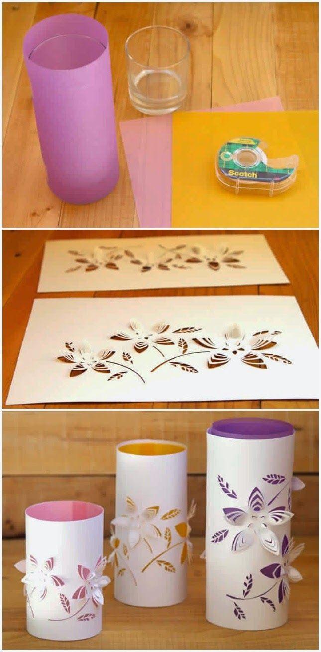 Easy Paper Lantern....15 Creative Diy Paper Lanterns Ideas to Brighten Your Home #diyCraft