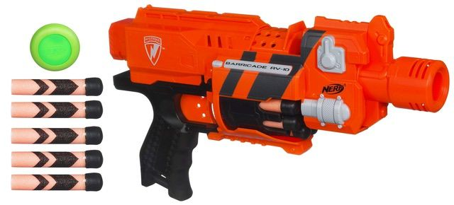 NERF Toys & Accessories: NERF N-STRIKE BARRICADE RV-10