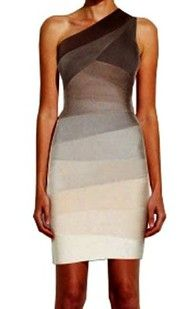 I really love Herve Leger's bandage dresses but doubt I will ever be able to actually afford one.