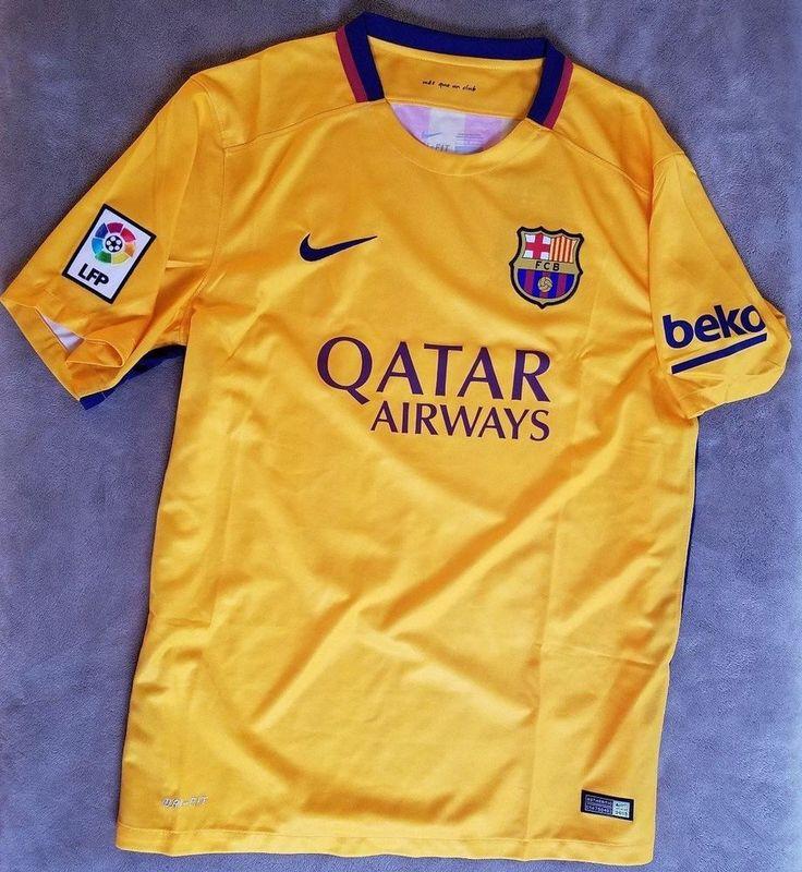 NIKE Barcelona Jersey FC Home Kit Shirt NEW Messi Team NWT Soccer Football #Nike #FCBarcelona