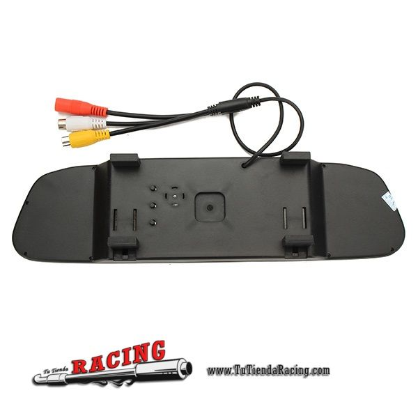 Kit Cámara de Aparcamiento Trasera Espejo Retrovisor Interior para Coche 4.3 Pulgadas TFT-LCD -- 42,65€