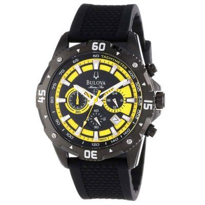 Bulova - Men\'s Marine Star Chronograph Watch - 98B176 - RRP: £299.00 - Online Price: £179.40
