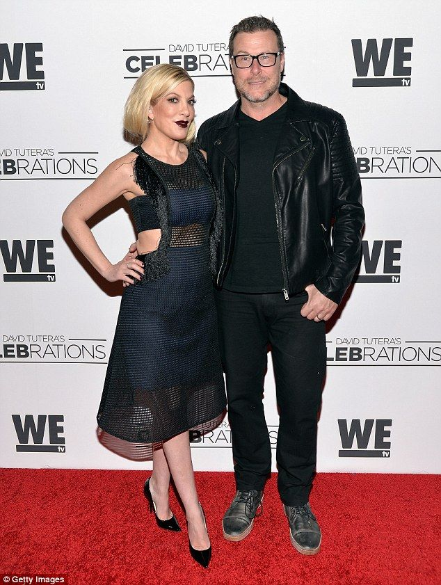 'We're fine!' Tori Spelling spoke out Thursday to deny she and husband Dean McDermott are ...