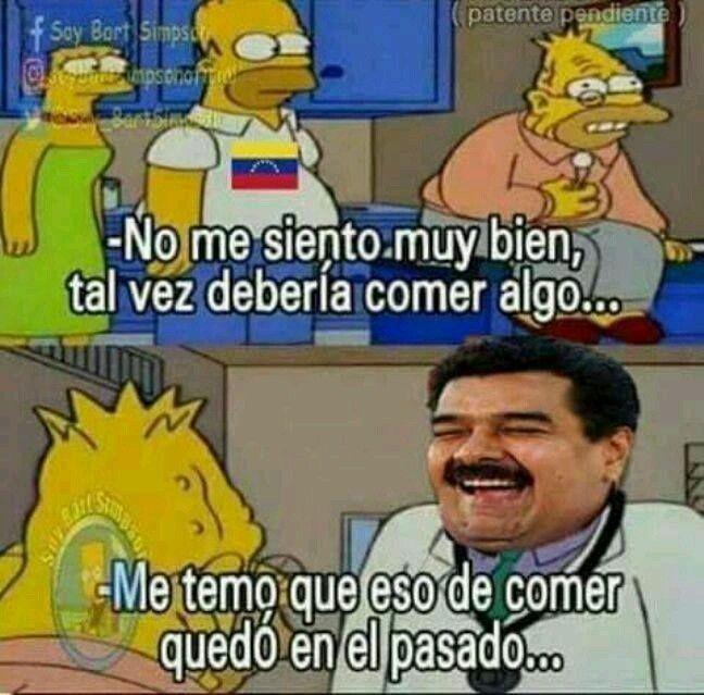 Me choca la puta situación de Venezuela,no puedo hacer nada pero los apoyo y espero que salgan de su situación