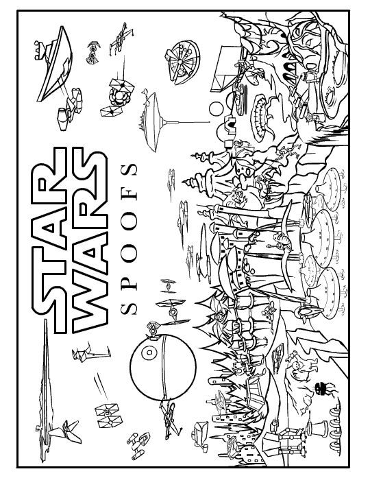 Lego Star Wars coloring pages | coloring pages for boys | #10 Free ... | 697x540