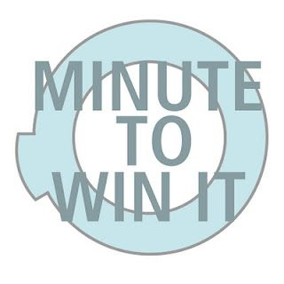 Minute To Win It free printables and games for parties, great ideas for a teenage boy's birthday party, teen party ideas, last minute homemade party games, diy tutorial on game night ideas. Creative party ideas for group events, company meetings, team building exercises