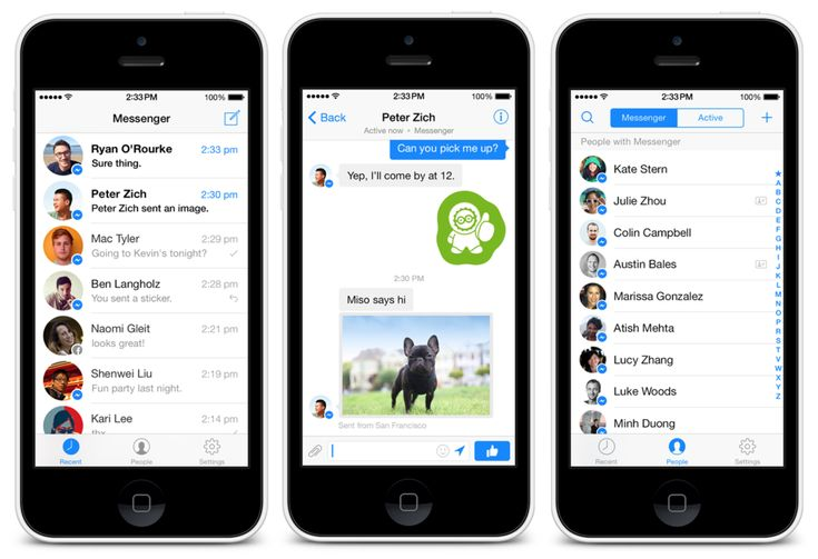 Free download Facebook Messenger for iOS. Latest download links for IPA file to install Facebook FB Messenger App on your iPhone and iPad.