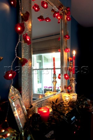 27 best images about mirrors and fairy lights on pinterest - Fairy lights in room ...
