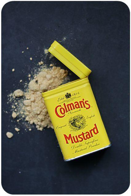 Sehr feines Senfpulver von Coleman's für die Sauce Albert   Arthurs Tochter Kocht von Astrid Paul
