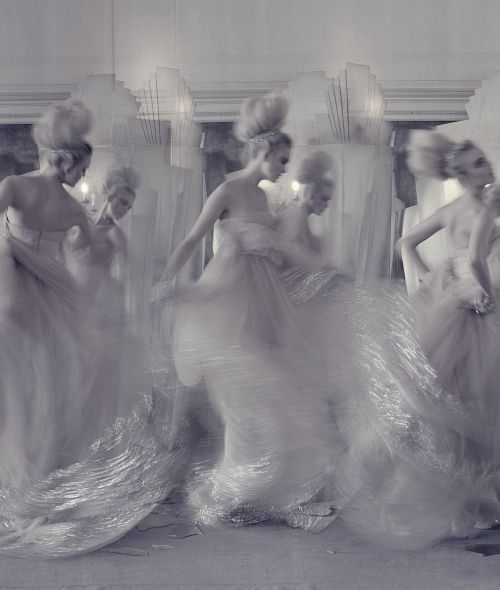 """""""The Snow Queen"""" by Tim Walker for Vogue UK, March 2009."""
