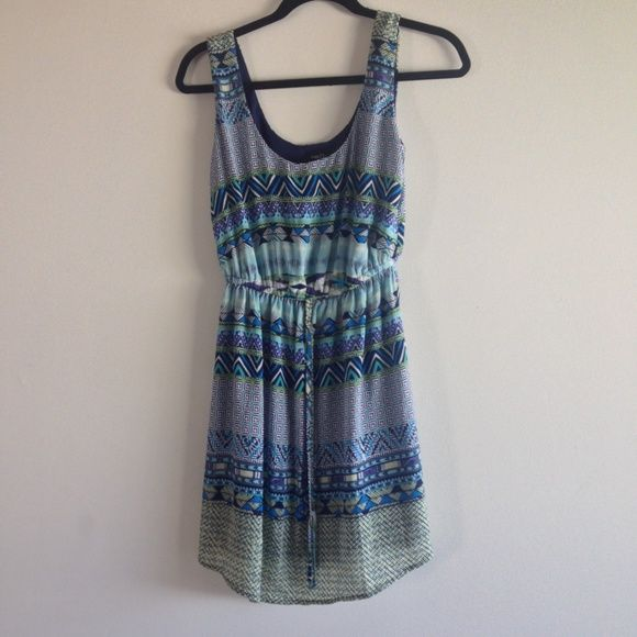 Rue 21 Graphic/Patterned Dress - Small - NWT Rue 21 Graphic/Patterned Dress - Size: Small - New With Tags, Cool Colors Rue 21 Dresses