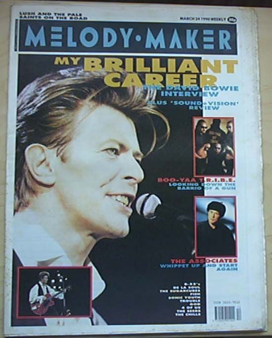 DAVID BOWIE - Melody Maker