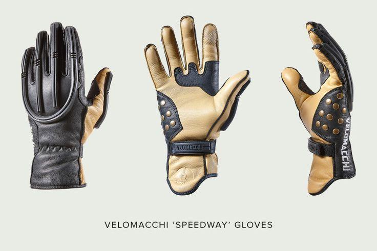 Velomacchi Speedway Motorcycle Gloves