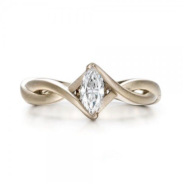 marquise engagement rings | Custom Solitaire Marquise Diamond Engagement Ring | Joseph Jewelry ...