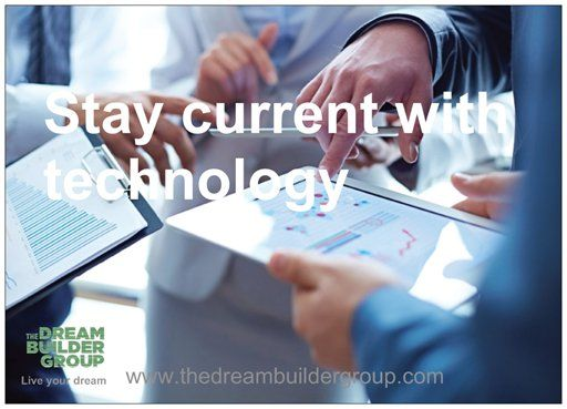 Stay #current with technology