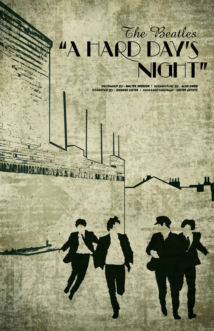 a hard day s night movie analysis A hard day's night is a classic film the song is a collaboration, but it is mainly written by john lennon with he and paul mccartney sharing the vocals on different parts of the song, which works brilliantly.