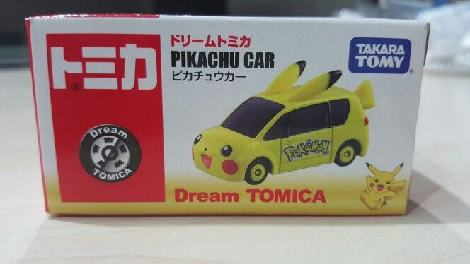 Pikachu car