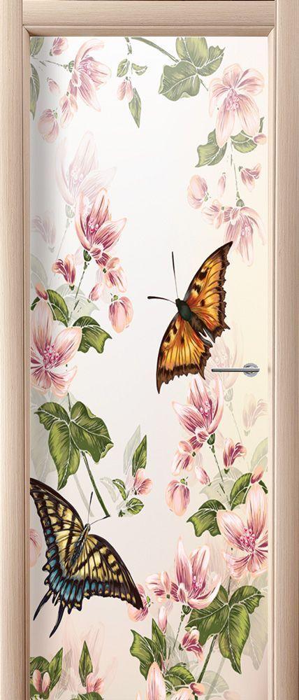 Door sticker – Floral-2
