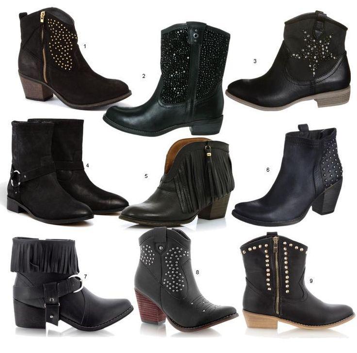 kowbojki - buty na jesień